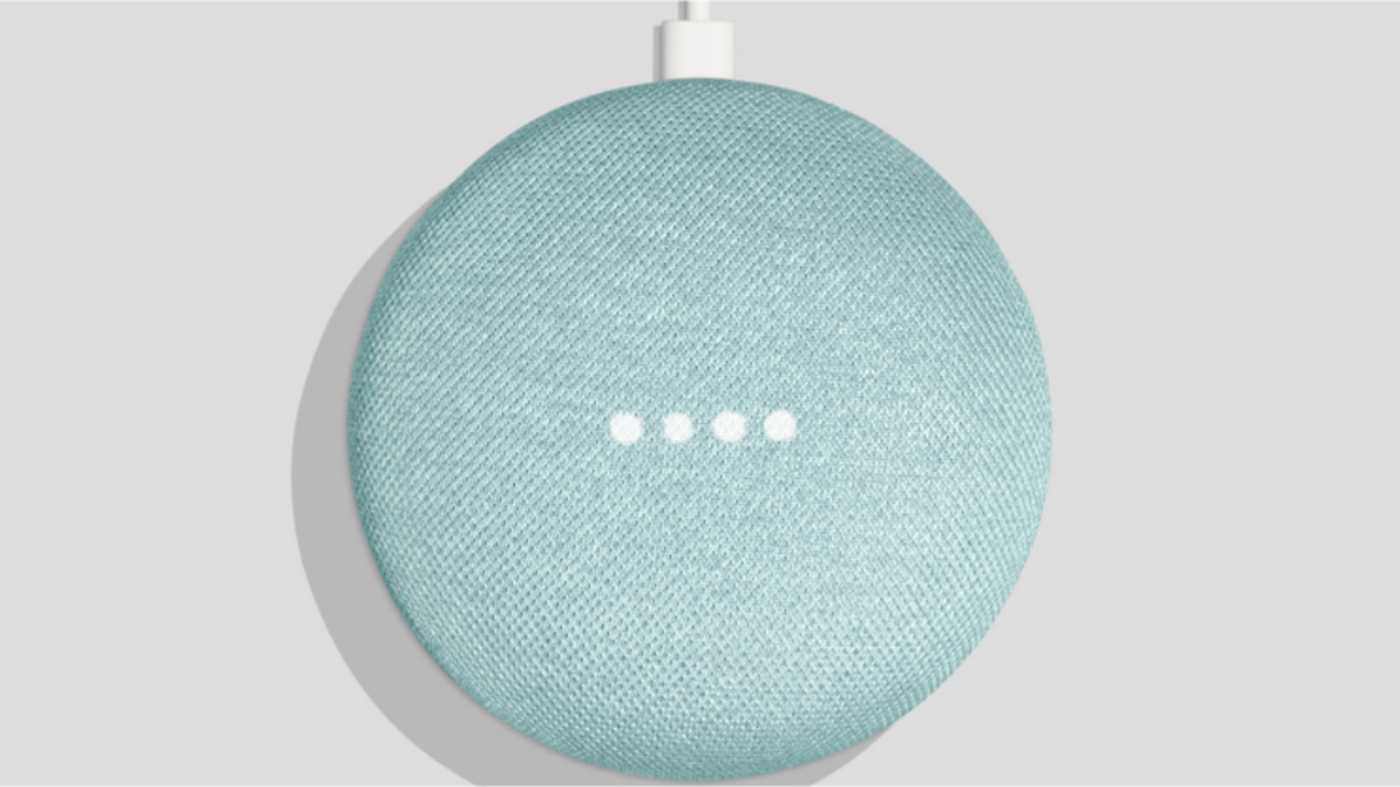 Google Home Miniの新色「アクア」が普通にいい色すぎて欲しい!
