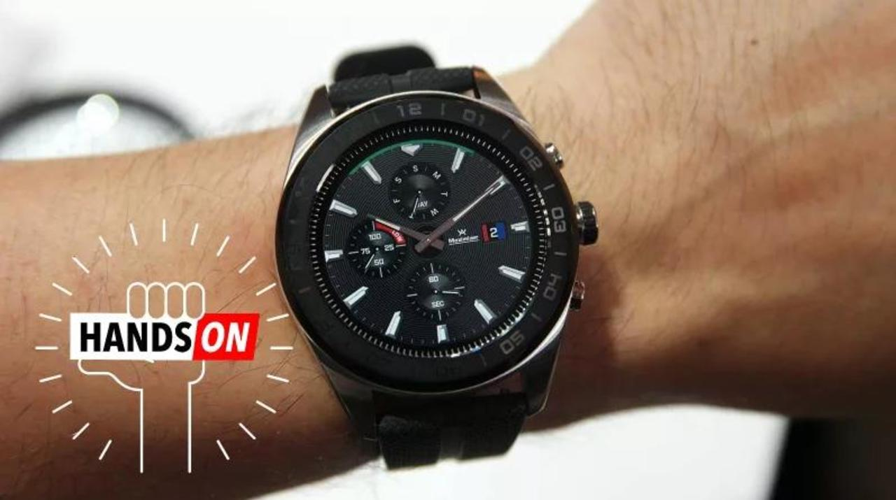 LG Watch W7ハンズオン:100日充電なしでも使えるWear OSスマートウォッチ