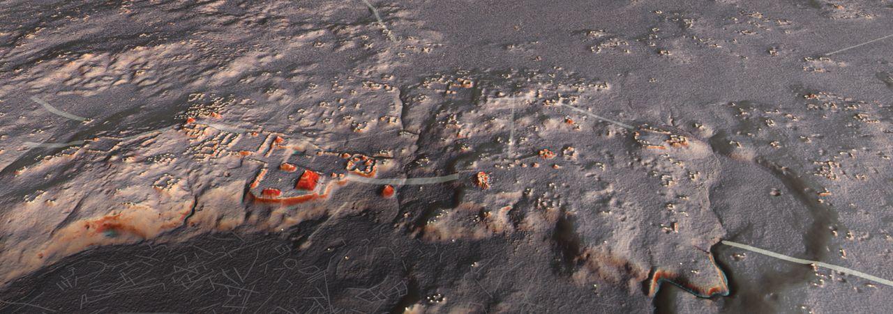 自動運転にも使われるLIDAR技術で、古代マヤ文明の6万以上の建造物が発掘される