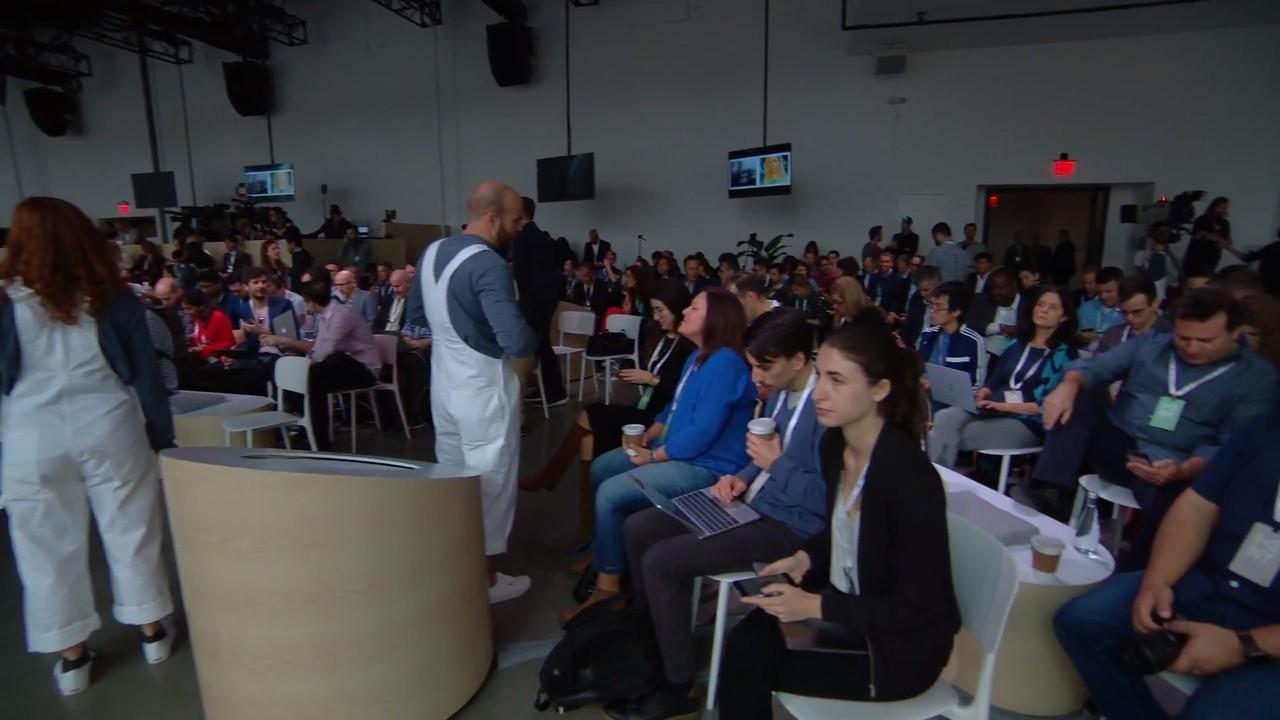 Pixel 3のイベント会場、なんか狭くない? #madebygoogle