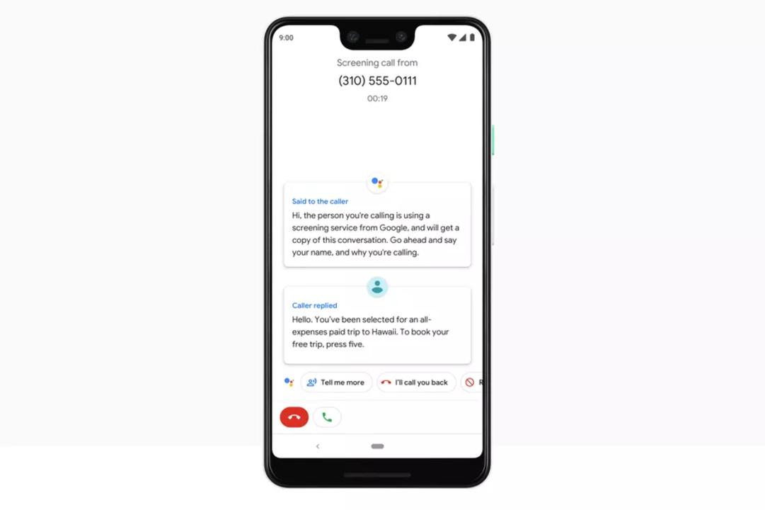 Pixel 3では、Googleアシスタントがセールス通話を撃退してくれるみたい #madebygoogle