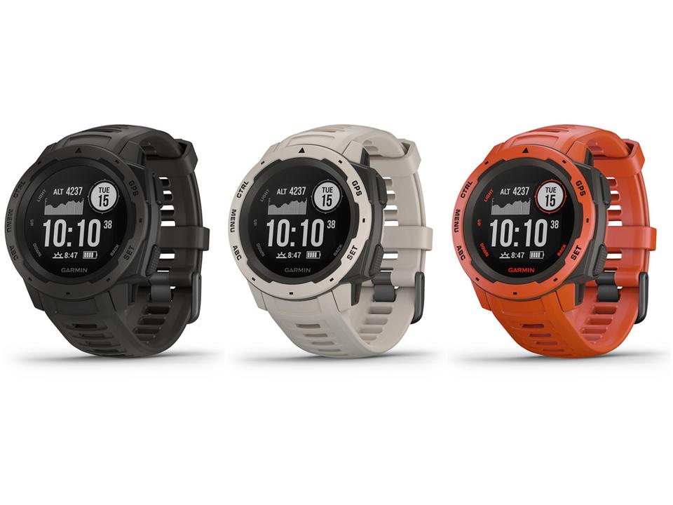 Garmin、タフ系GPSスマートウォッチ「Instinct」発売。山でも迷子にならないアウトドア向け