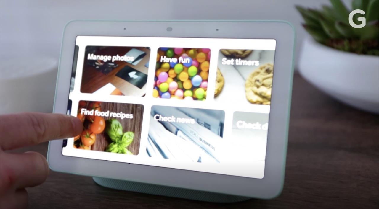 カメラ無しのタッチスクリーン型デバイス「Google Home Hub」がスマートホームを完成させるかもしれない