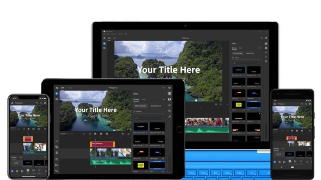 Adobe、ソーシャル向け新ビデオ制作ツール「Premiere Rush CC」を正式発表