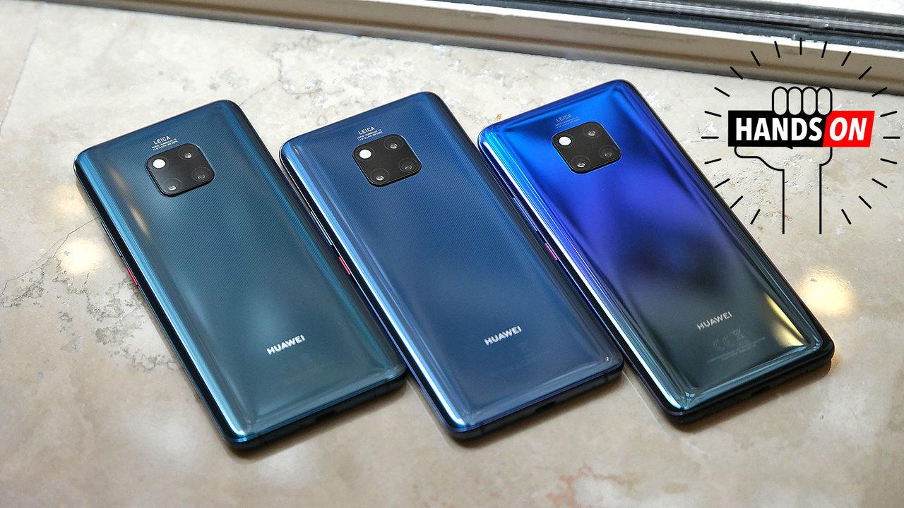 Huawei Mate 20/ Mate 20 Proハンズオン:トレンドの最新技術をとにかく本気でぎっしり詰め込んでいる
