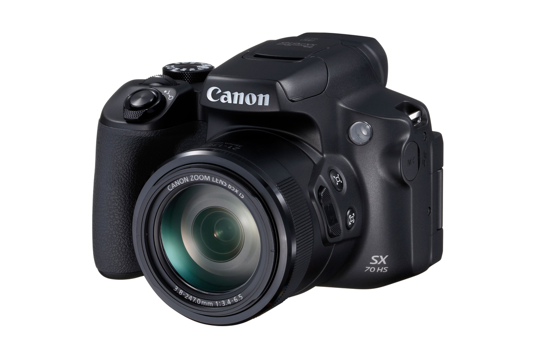 お月様もでっかく写る。最大1,365mmのコンパクトデジカメ「PowerShot SX70 HS」12月発売