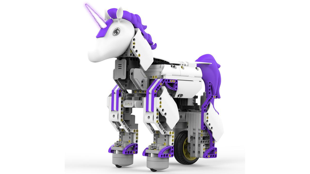コーディングが学べるゴリゴリのユニコーン・ロボット