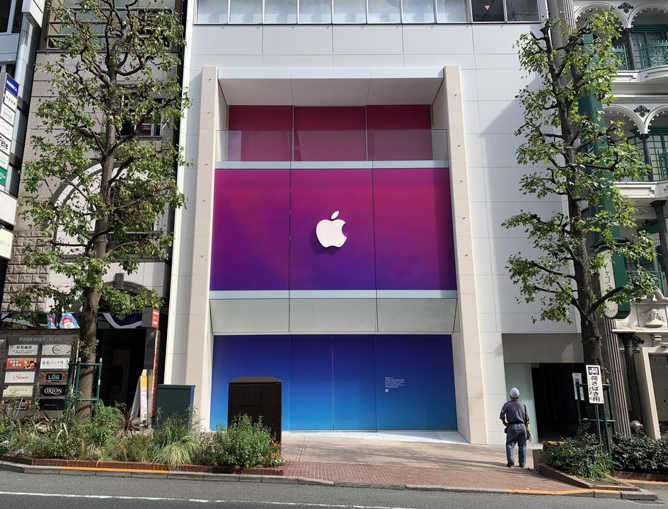 Apple 渋谷がオープン前のスペシャル仕様に! 新店舗は「ベランダ」あり?