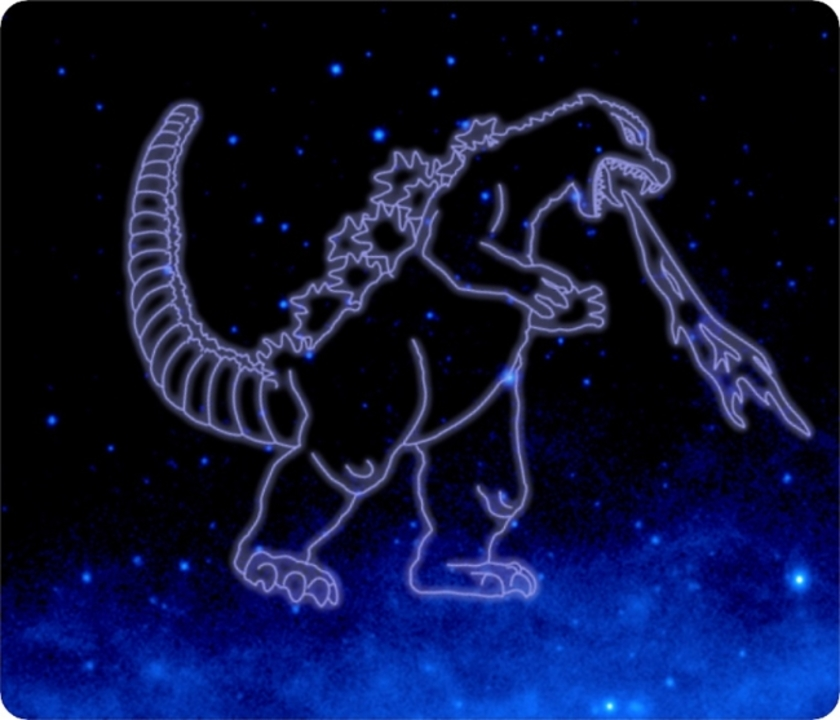NASA、宇宙にゴジラ座やムジョルニア座、超人ハルク座などを認定してた