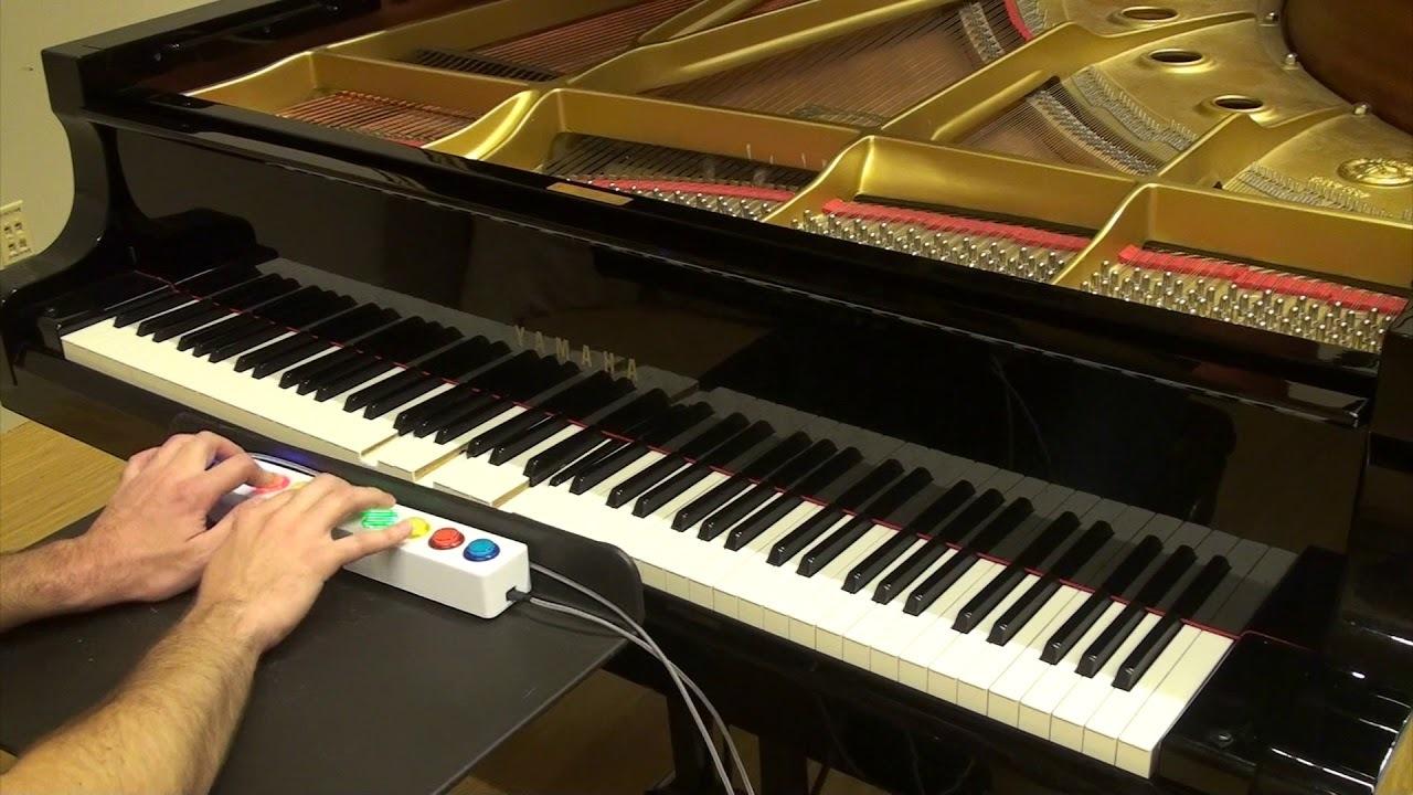 Google、8つのボタン操作だけでそれなりにピアノが演奏できる「Piano Genie」を開発