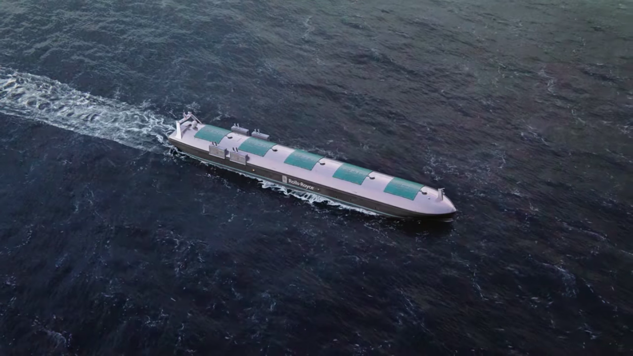 Rolls-Royce × Intelで2025年までに無人船を実現と発表