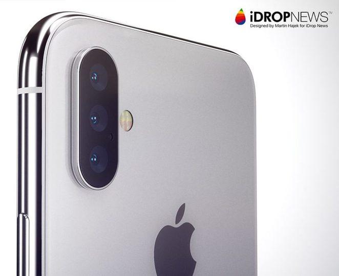 ついに3眼...来年のiPhone Maxはトリプルカメラを搭載し、2020年以降には光学ズームカメラも採用?
