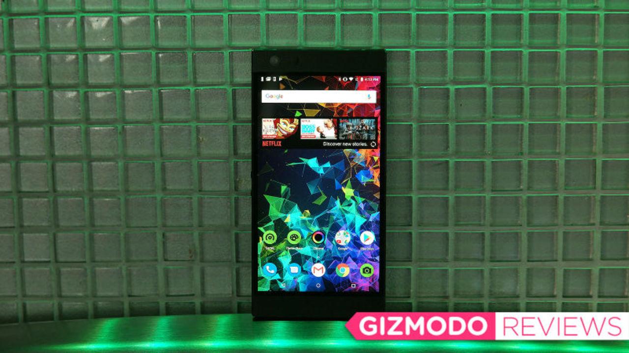 Razer Phone 2レビュー:ゲーム以外の日常もこなせるように