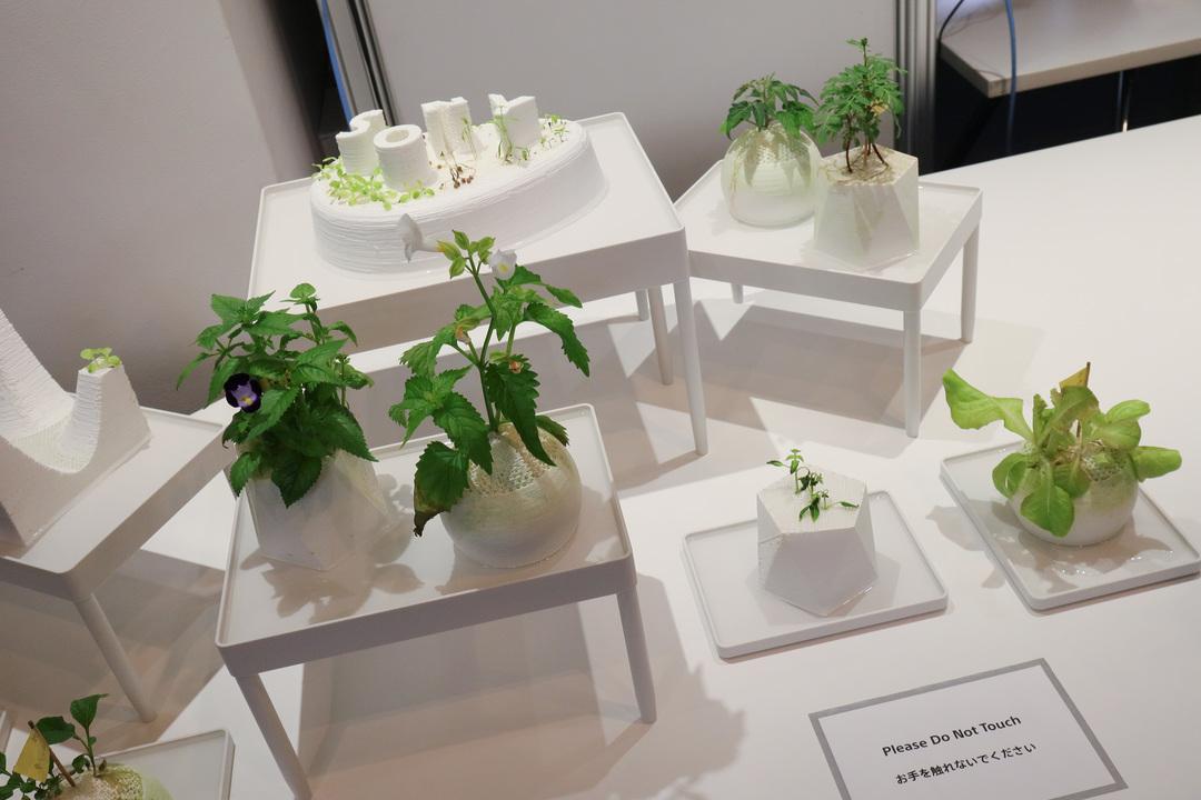庭も3Dプリントできる未来。手入れも楽だし、公園や農園までプリントできるかも