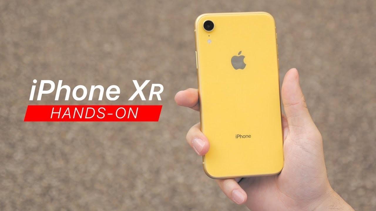 iPhone XR 動画ハンズオン:廉価版というイメージはない