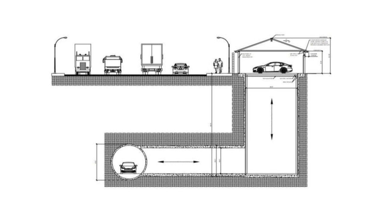 イーロン・マスクのバットケイブ!? ロスのごくごく普通の家に地下トンネルをつなげるってどういうこと?