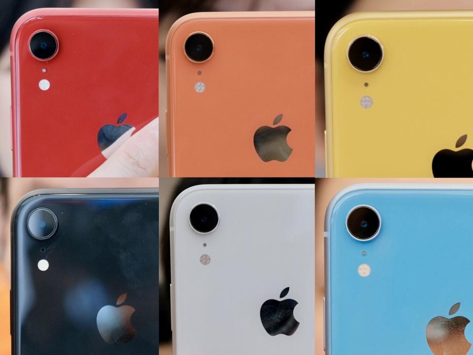 iPhone XR発売!すべての色のXRで写真撮られてきたよ