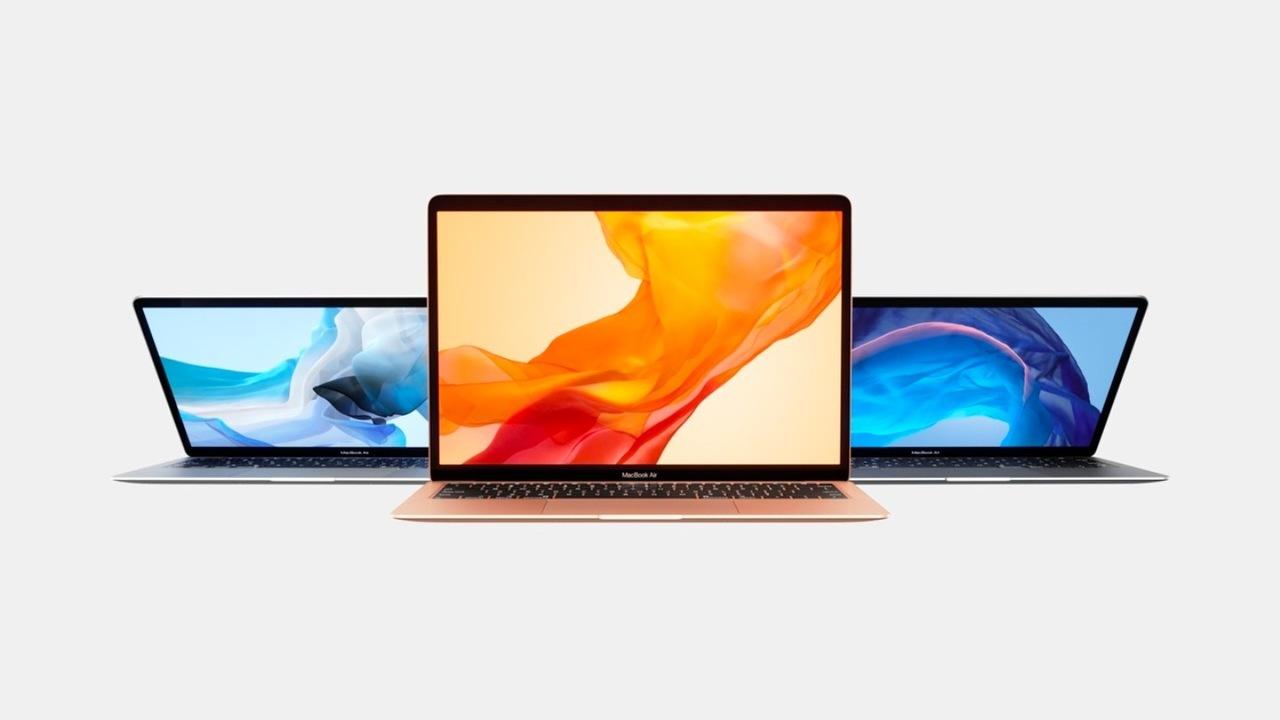 新Macbook Airは13万5000円くらいから! カラバリもあるよ! #AppleEvent