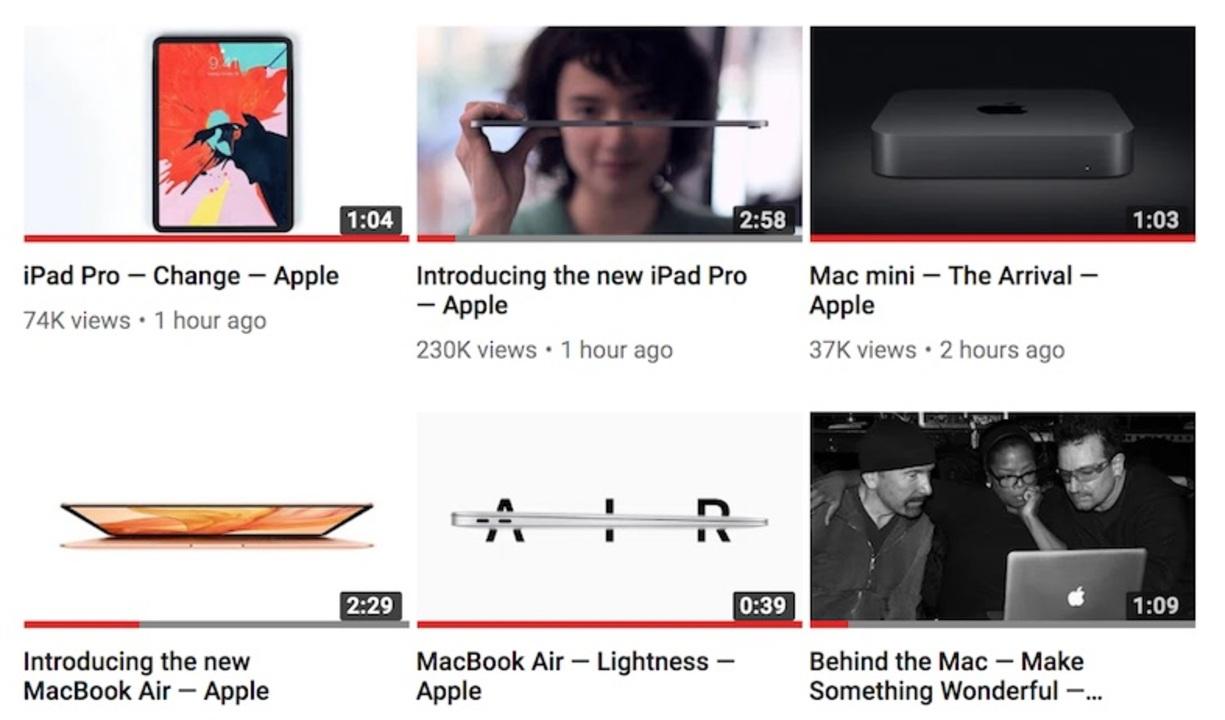 今日のApple発表会で使われた全製品動画まとめ! #AppleEvent