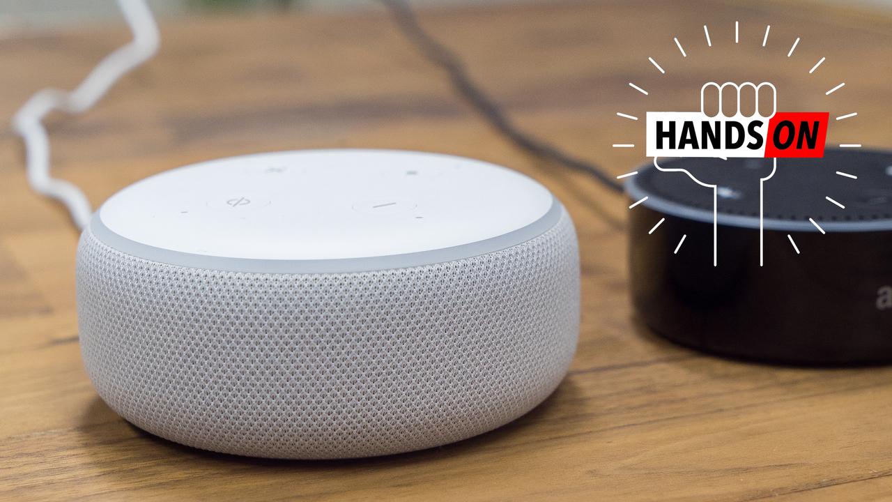 新型Echo Dotハンズオン:やっと音楽が聴けるようになった