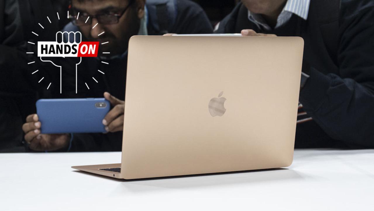 新MacBook Airハンズオン:MacBookが風前の灯火