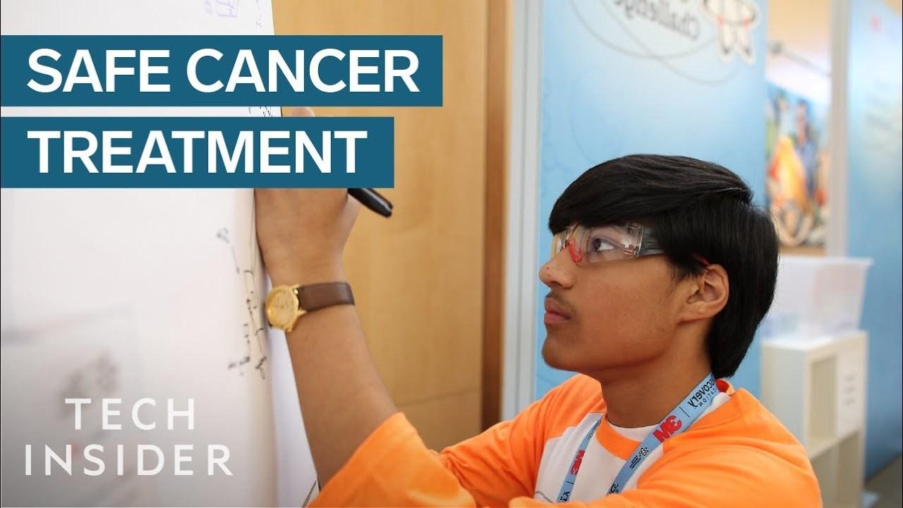 13歳の少年がAIを利用した膵臓癌の治療法を開発する