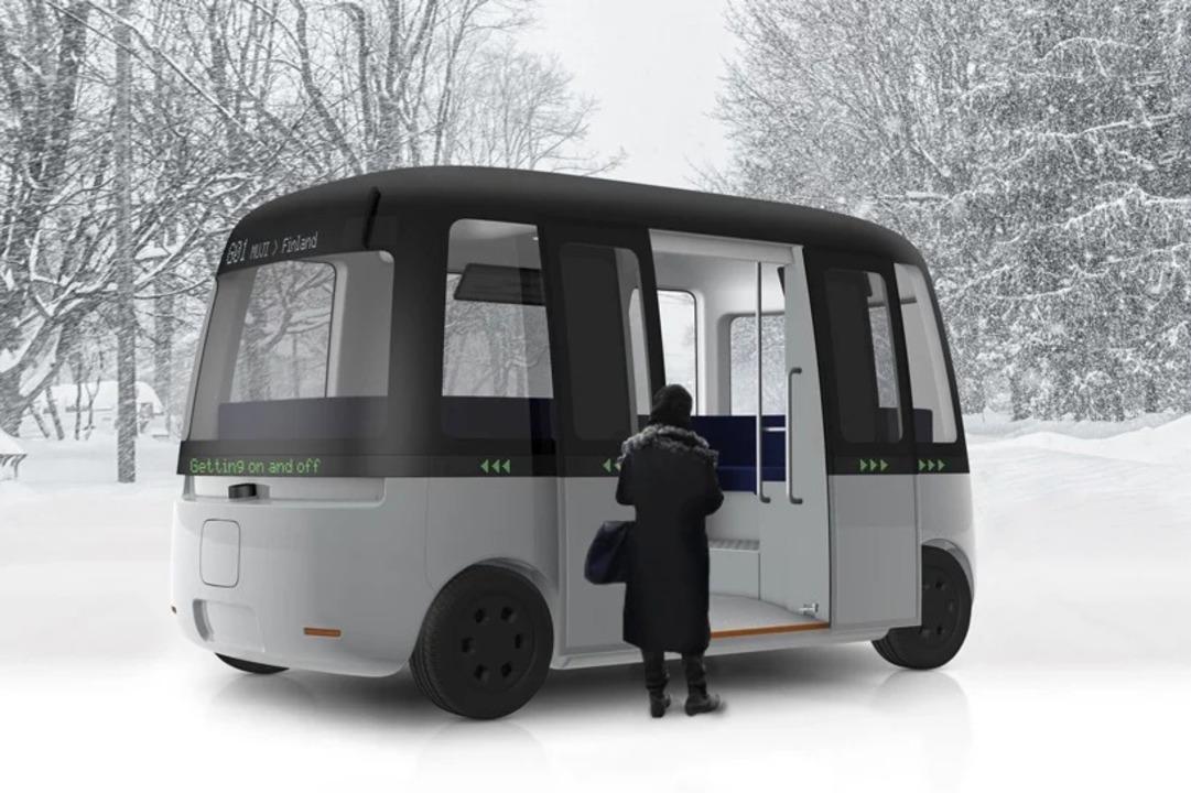 無印良品が自動運転バス?寒冷地をぐいぐい走りそう