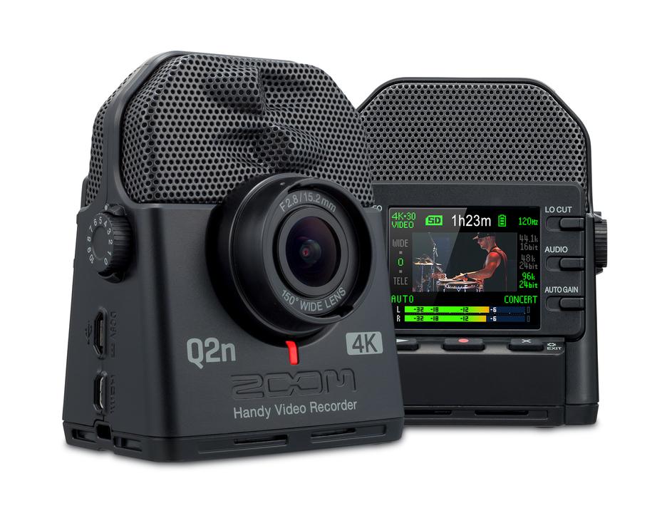 ビデオも音も妥協しないZOOMのビデオレコーダー
