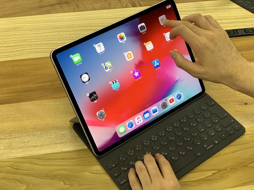 新しいiPad Proがバインバインするんですよ。