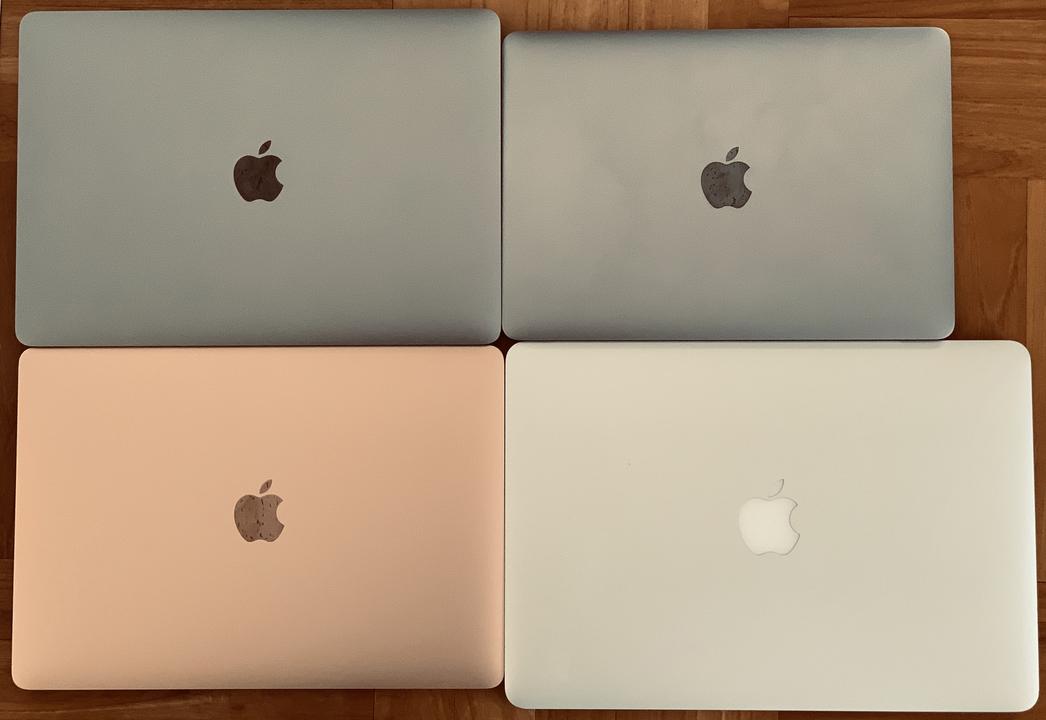 期待の星、新MacBook Airと歴代MacBook勢で大きさ比較。その結果……