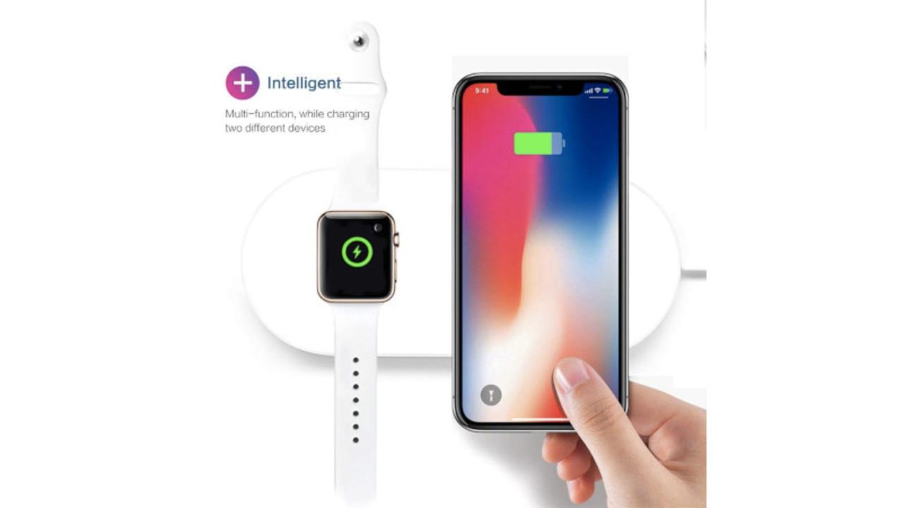 Apple WatchとiPhoneを同時にワイヤレス充電できるパッドが便利そう