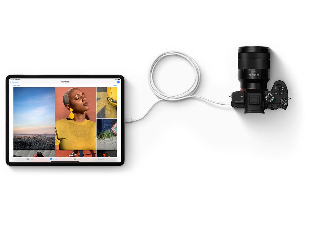 iPad ProのUSB-Cポートの使い方、意外な落とし穴も…?