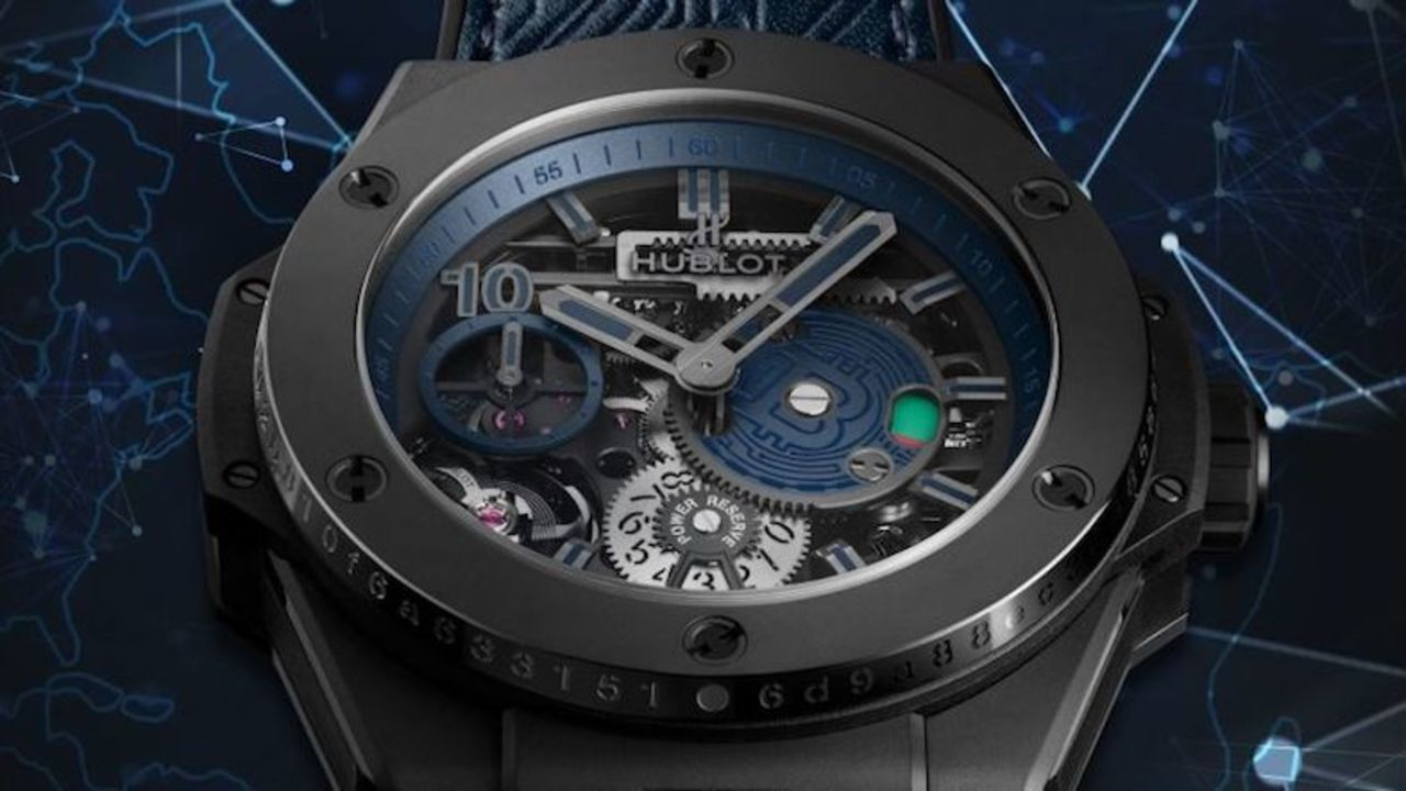 280万円超えのある高級時計、支払いはビットコインのみ!