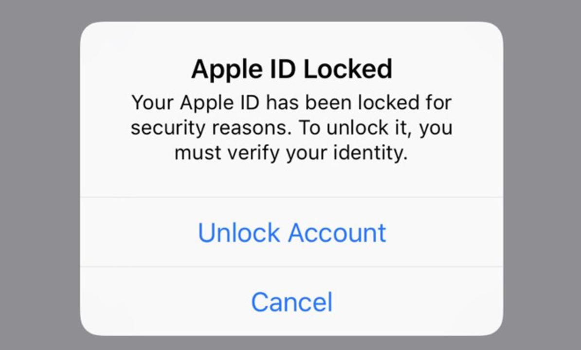 Apple IDがロックされる謎現象が発生