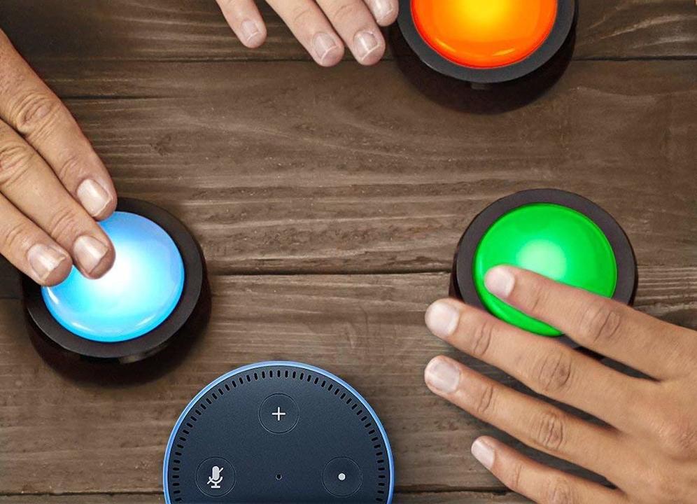 カラフルなボタン「Echo Buttons」、ようやく使い道が見つかる