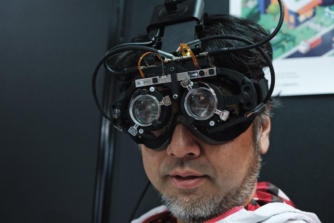老眼ニスト、AFメガネを手に入れる未来 #interbee2018