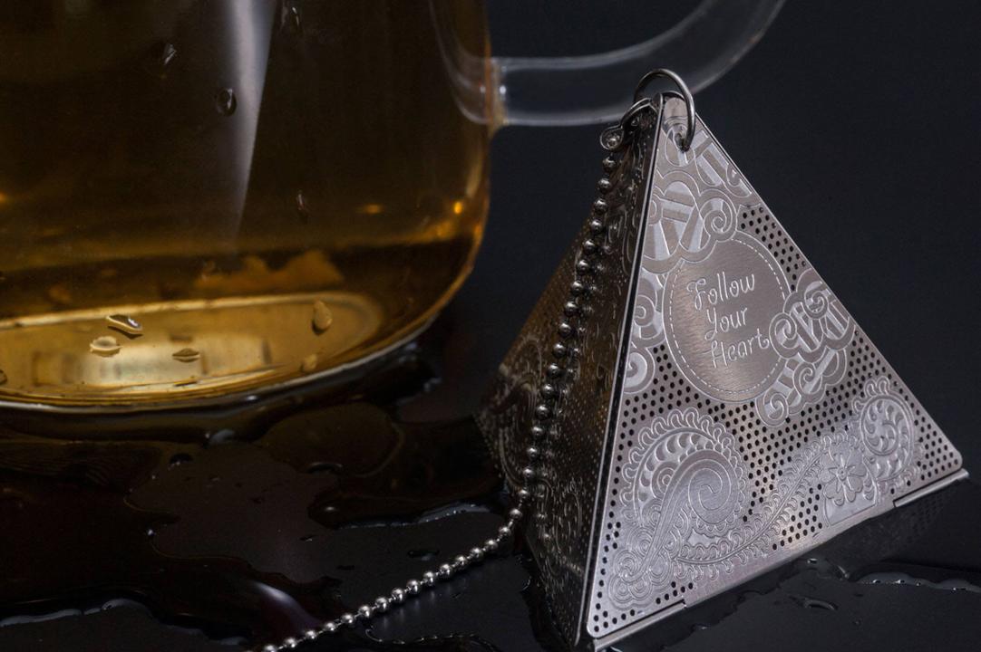 ビジネスの合間に英国流癒やしを、ピラミッド型紅茶ディフューザー「TRI」キャンペーン開始