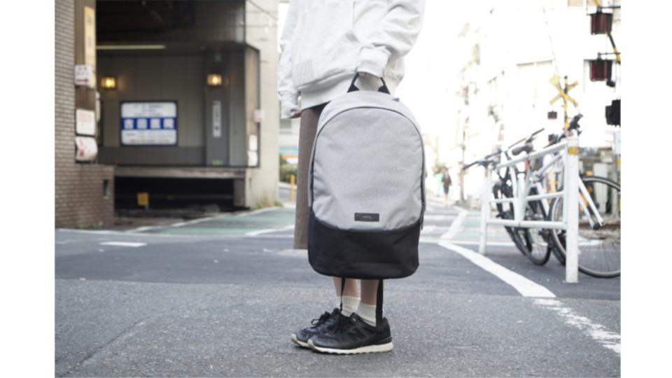 シンプルかつ機能的。ベルロイの「Classic Backpack」はフォーマルとカジュアルのいいとこ取り
