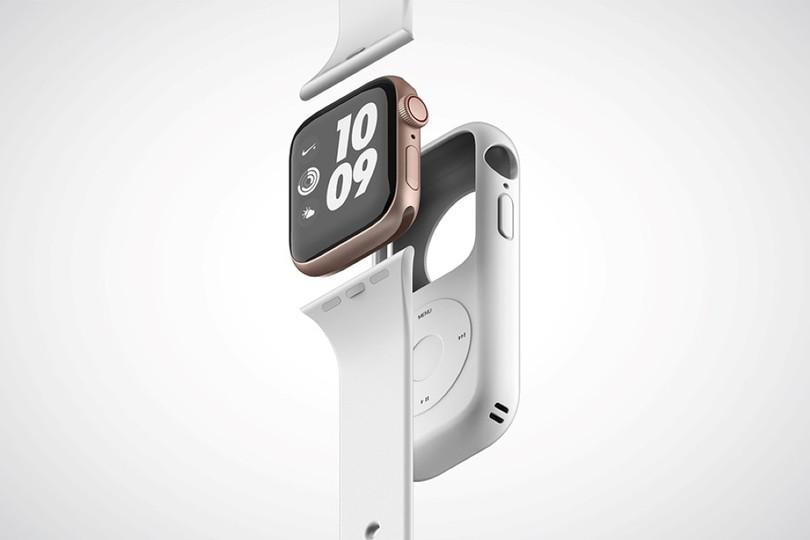 ポケステかと思ったら、Apple WatchをiPod風にする妄想アクセサリーの類だった