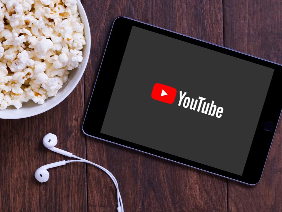 YouTube、広告付きの映画を無料で見られるように(日本ではまだ)