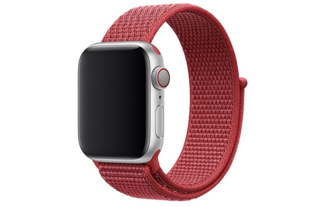 Apple Watchに(RED)スポーツループ登場! 海外では新作Nike+バンドも