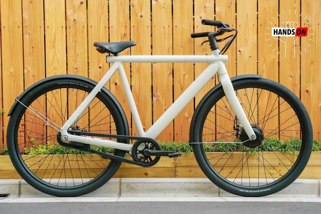 VanMoof Electrified S2 ハンズオン:デザインも機能もオンリーワンな電動自転車