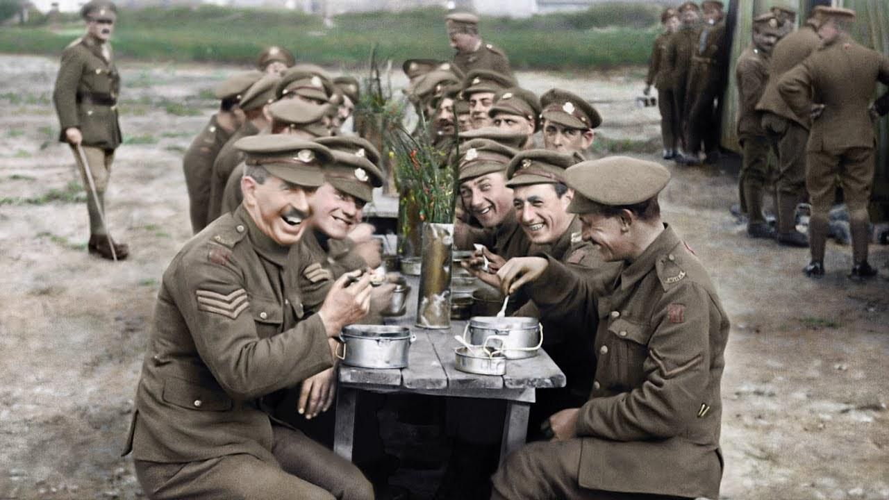 このドキュメンタリー、すごい。第一次世界大戦のフィルムを、修復・着色して作られた映画