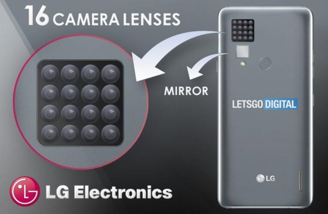 複眼かな?LG、「16カメラスマホ」を考案
