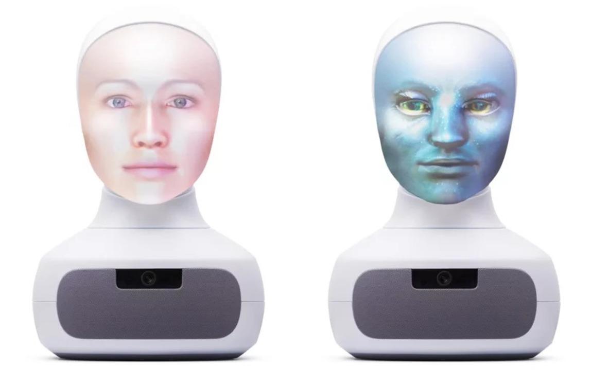 スピーカーに百面相をする顔が乗ったAIソーシャル・ロボットがサイバー・ホラーな件