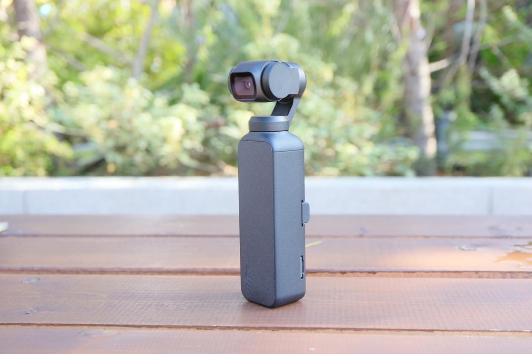 DJI Osmo Pocketハンズオン:撮る気にさせる手のひらジンバル
