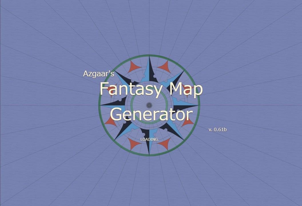妄想が止まらない!読み込むたびに仮想のファンタジー地図を生成するサイト。