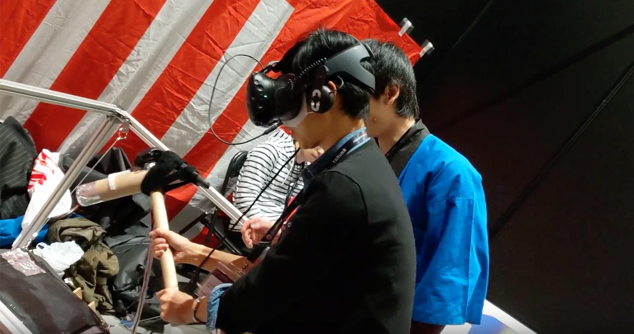 面白くってどうしよう。「VR餅つき」がくだらな面白いのに誕生秘話にホロリ #SIGGRAPHAsia