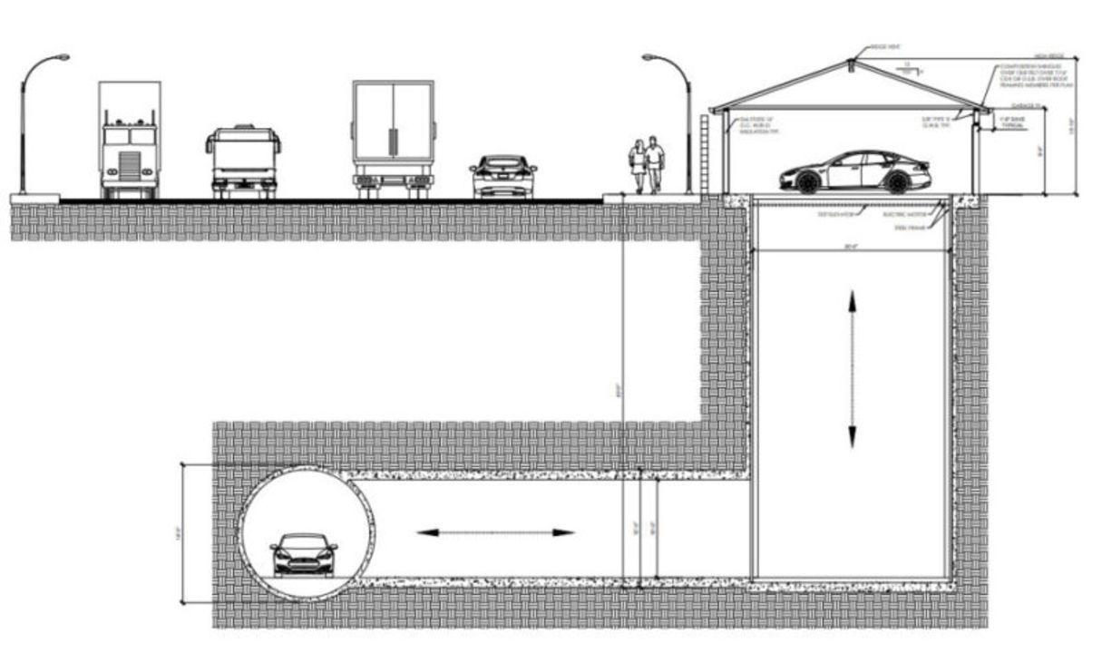 地下を車が走り回る時代への第一歩。The Boring Companyの地下エレベーター、18日にお披露目
