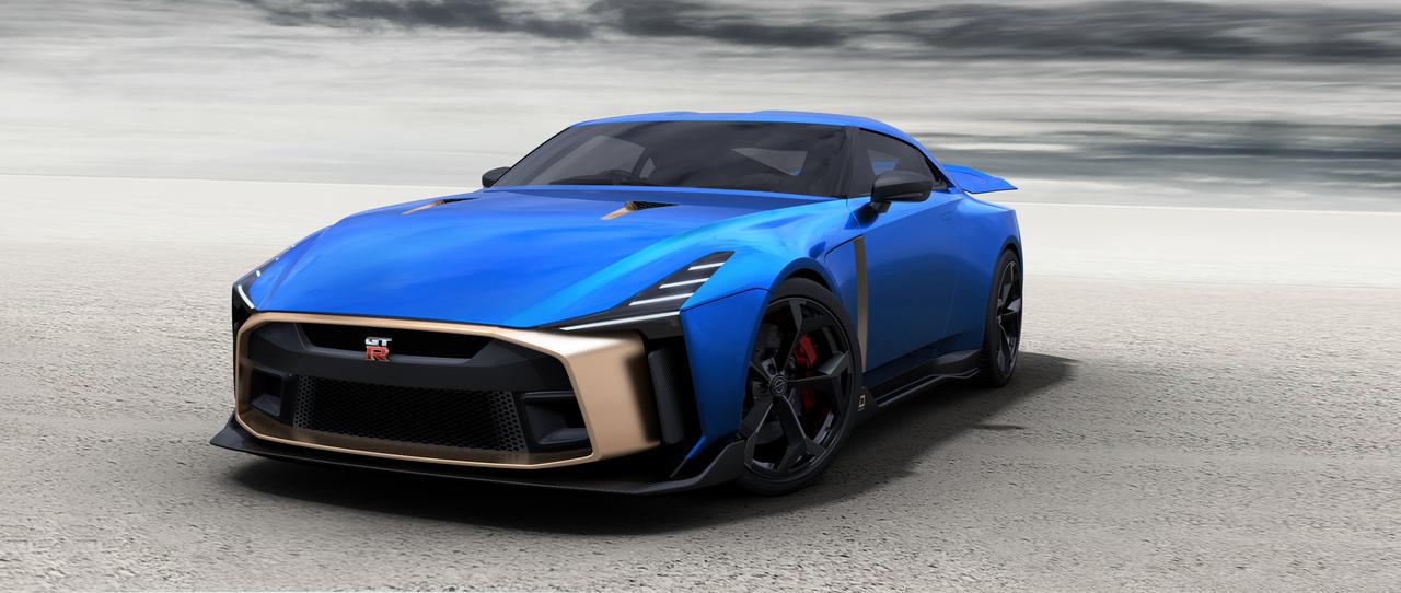 IDデザインの名工房イタルデザイン×GT-R。約1億2800万円の「Nissan GT-R50」